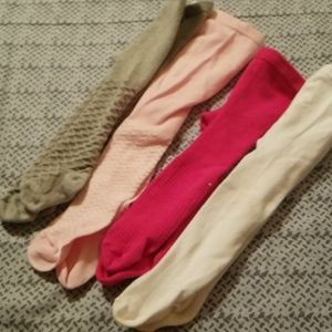 Lot of baby tights